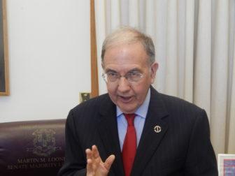 Senate President Pro Tem Martin M. Looney