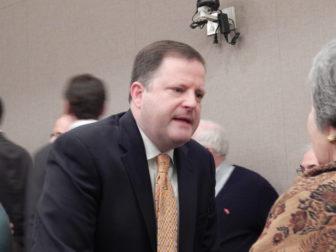 John McKinney after the debate