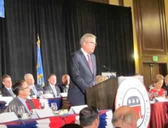 Republican presidential candidate Jeb Bush
