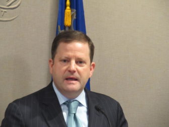 Senate Minority Leader John P. McKinney