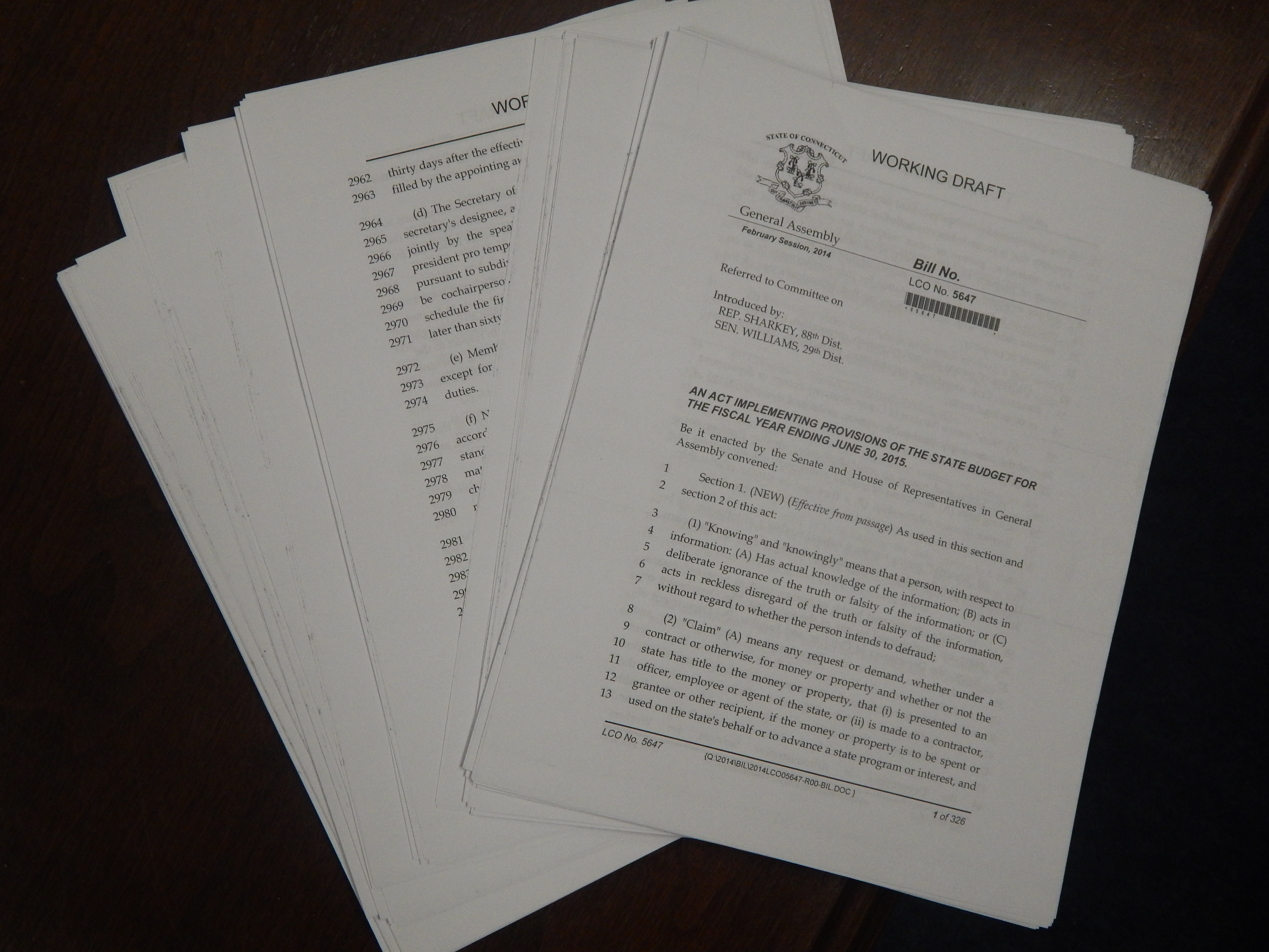 Breaking down a 300-page 'implementer' bill