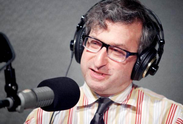 "Jonathan Pelto during his appearance May 20 on WNPR's ""Where We Live."""