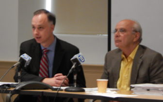 Regents Matt Fleury (left) and Richard J. Balducci (right)