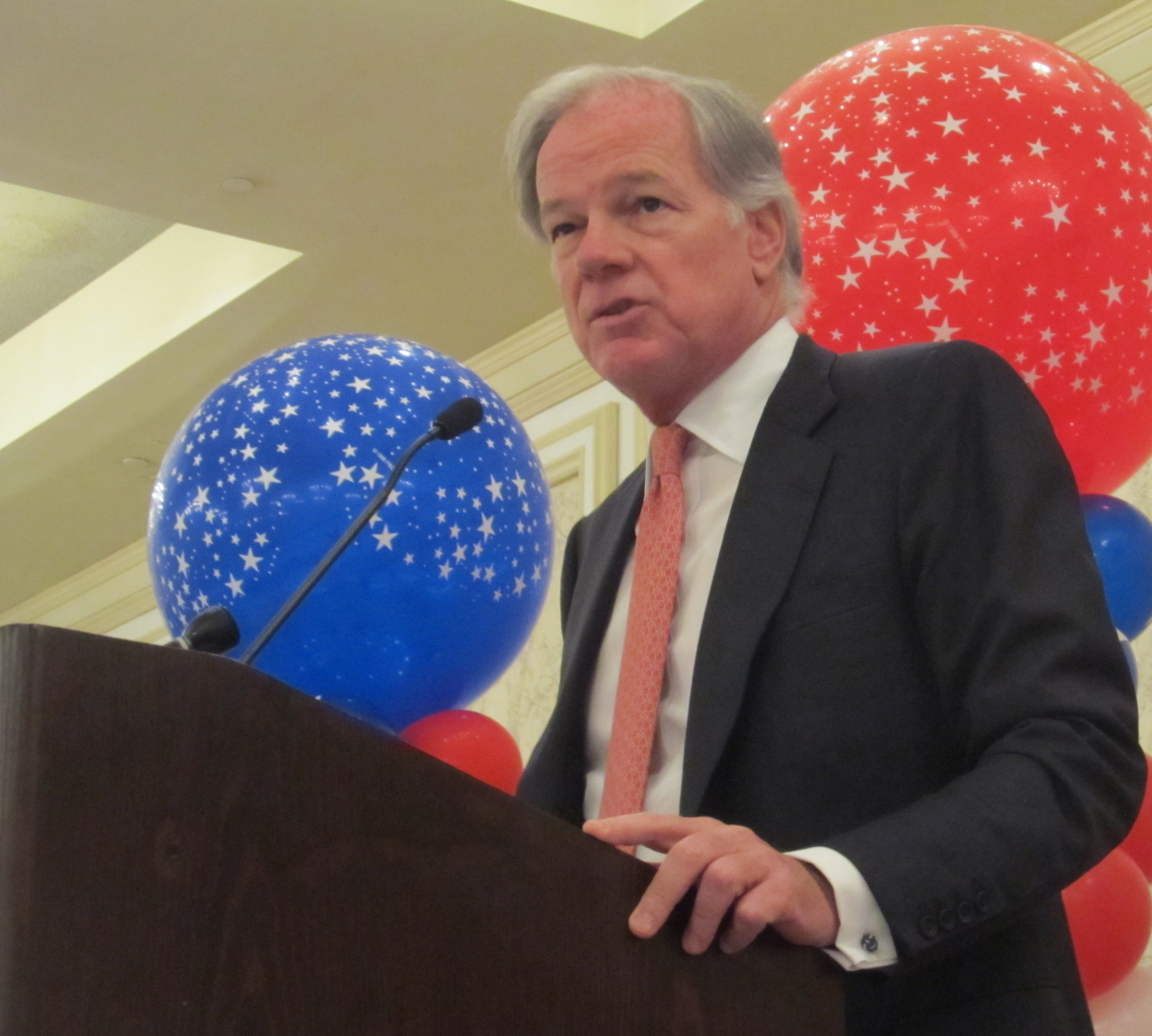 Not quite the nominee, Tom Foley puts stamp on GOP