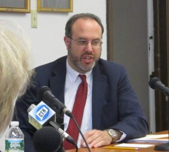 Commissioner Stefan Pryor.
