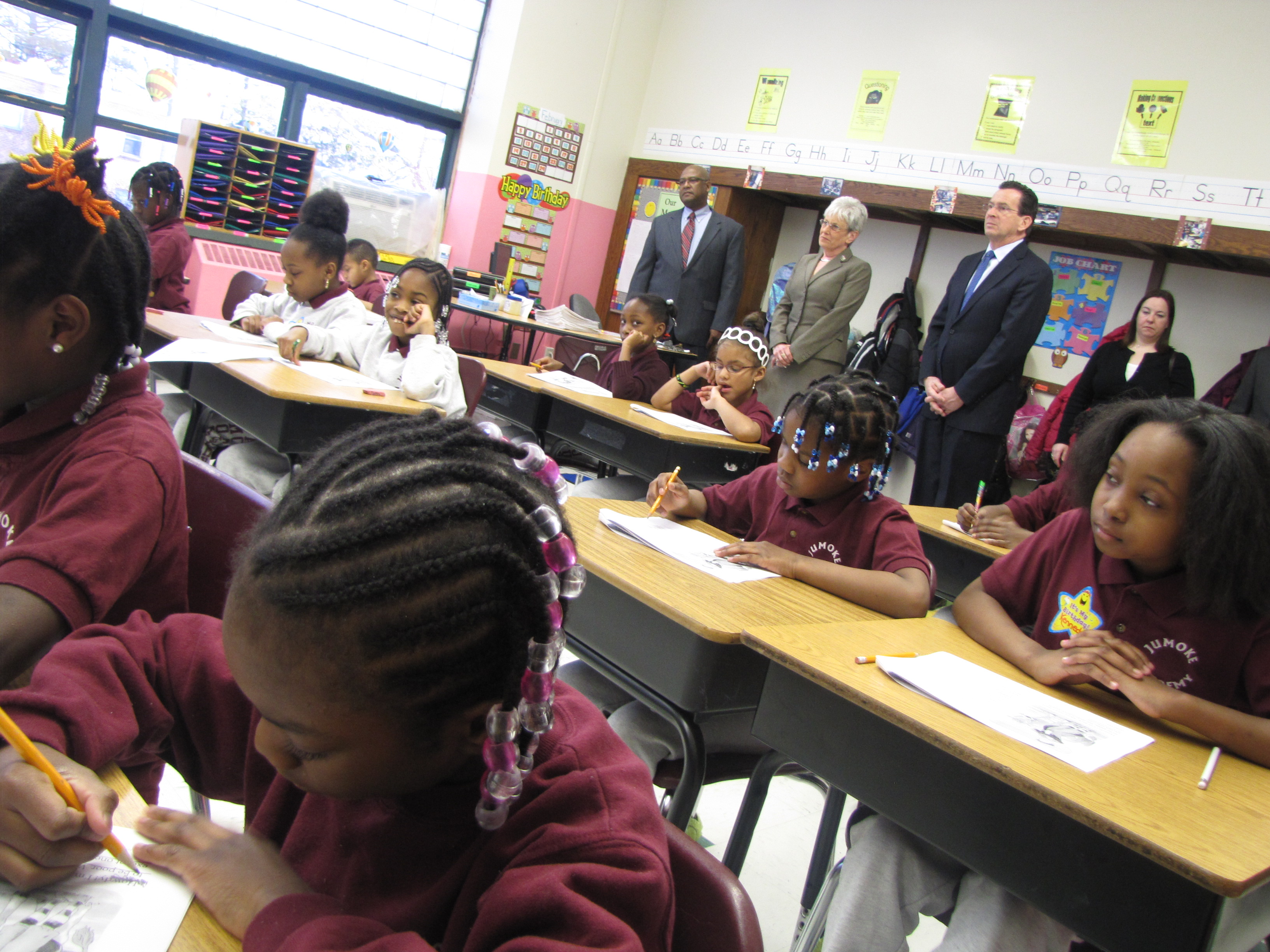 Malloy confronts school inequities: 'The civil rights issue of our time'