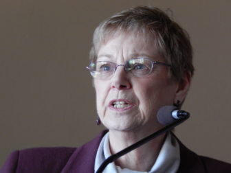 This is a picture of Patricia Checko, a longtime anti-tobacco advocate and member of the Tobacco and Health Trust Fund.
