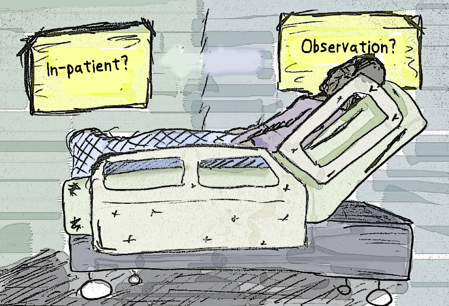 'Observation status:' The term hospital patients should know