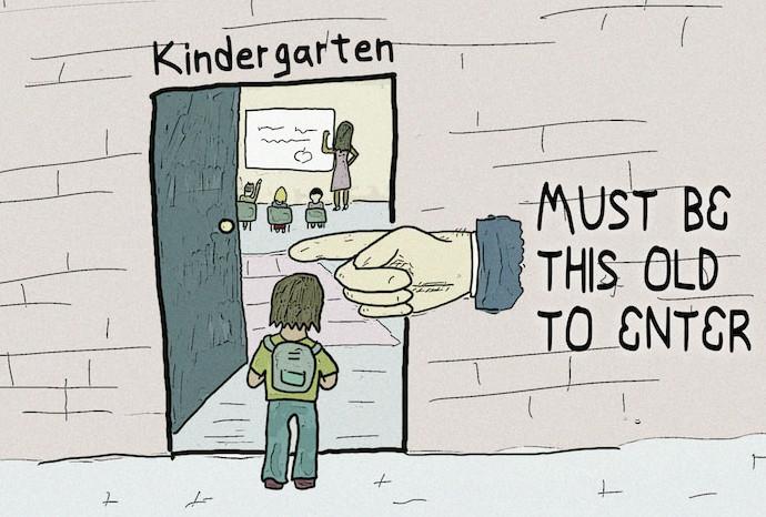 kindergarten age art