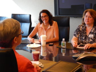 Mary Jo Andrews, Beverly Brakeman and Carol Poehnert are part of a group of mothers of children with serious mental illness who share tips, support each other and are now making recommendations to policymakers about improving mental health services in Connecticut.