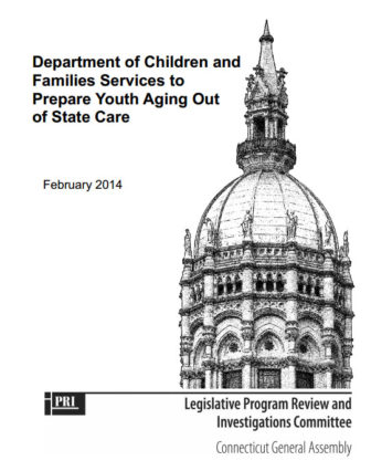 DCF report cover