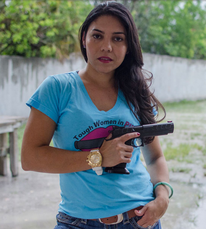 Women emerge as forceful voice in defending firearm ownership