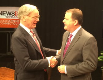 Tom Foley and John P. McKinney at their second and final debate.