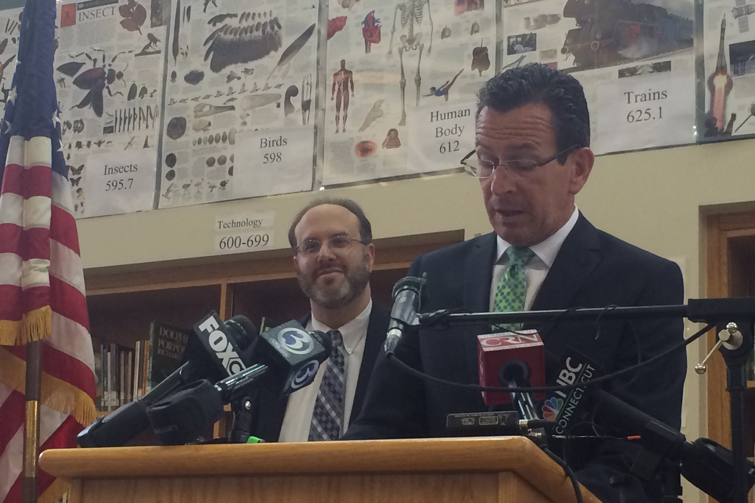 Malloy celebrates Pryor, but makes gesture to union critics