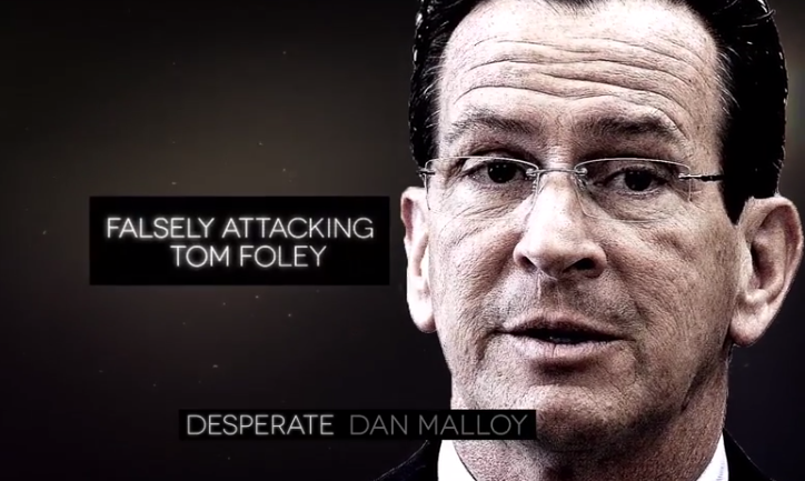 Tom Foley ad labels governor as 'Desperate Dan Malloy'
