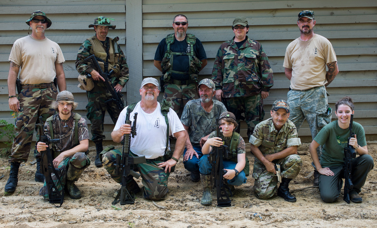 cmm militia group photo