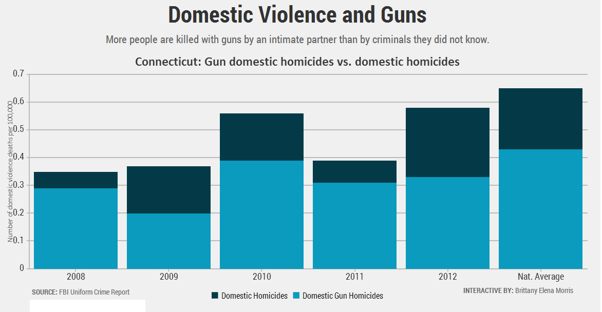 More gun laws could be the 'beginning to the end' of domestic violence
