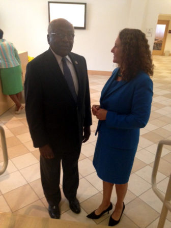 Rep. James Clyburn, D-S.C., visited Connecticut recently to mobilize black voters on behalf of Rep. Elizabeth Esty.