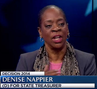 State Treasurer Denise Nappier.