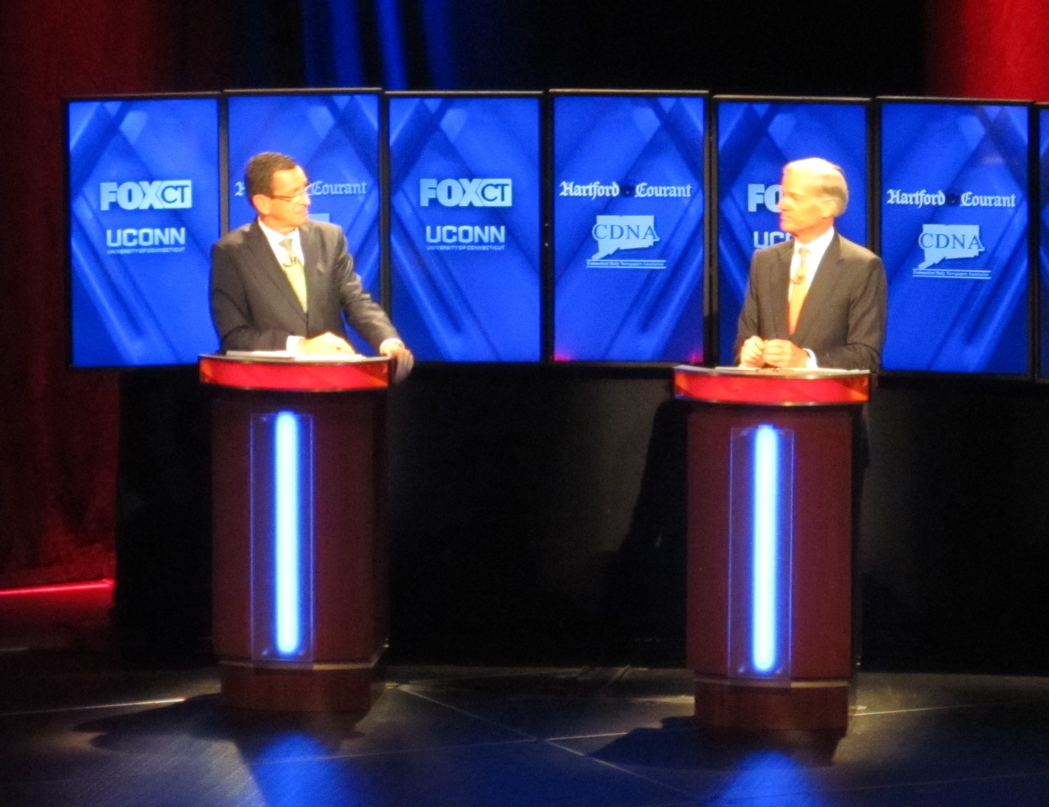 Malloy and Foley stage slugfest on character, integrity