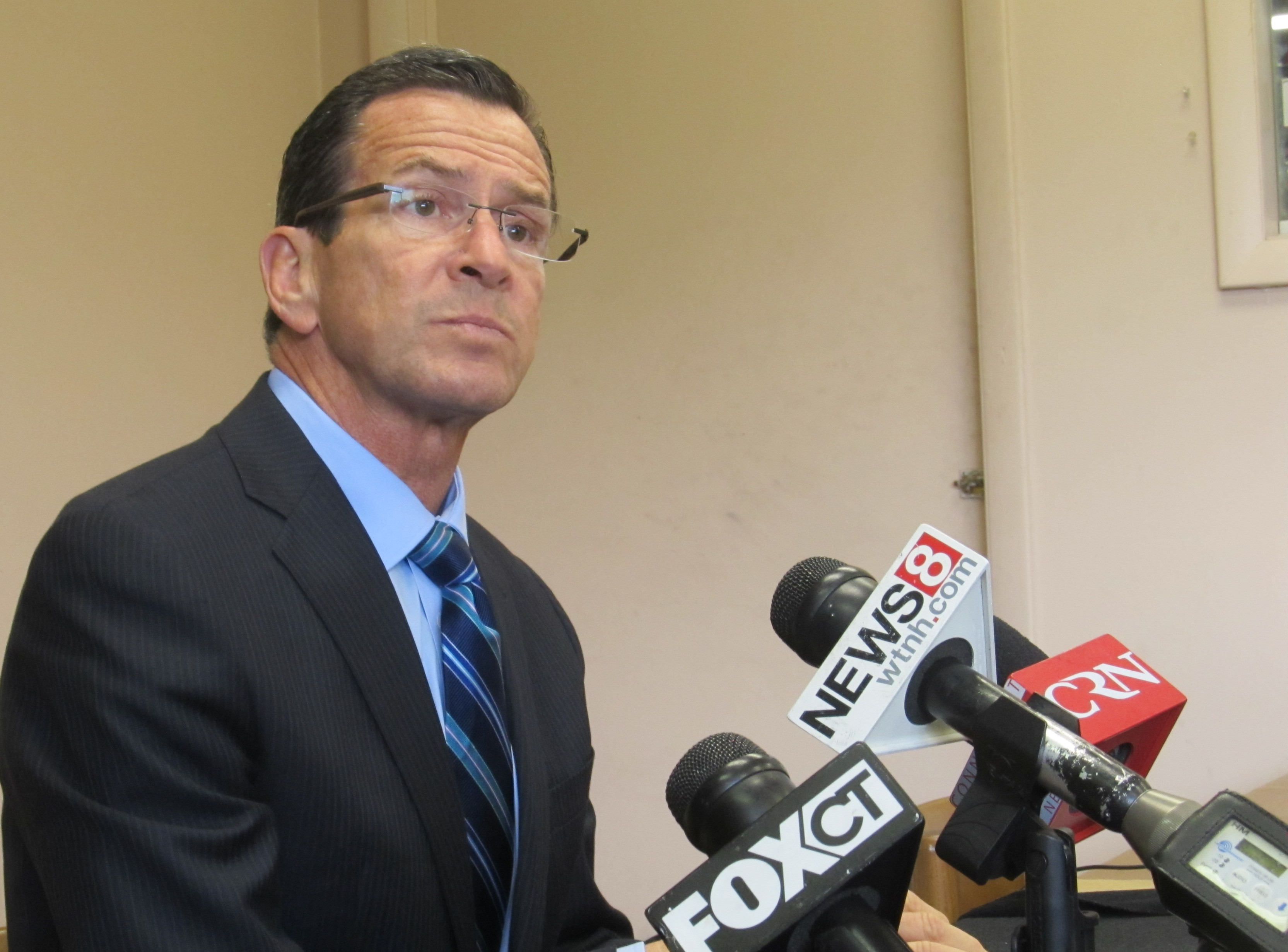 In an angry, unsettled season, Malloy stays the course