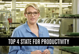 A scene from the state's TV campaign.