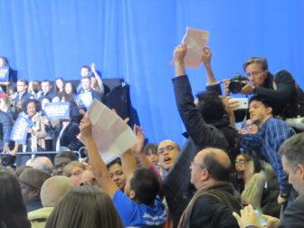 Obama was heckled.