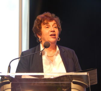 Nancy DiNardo at the 2014 state convention.