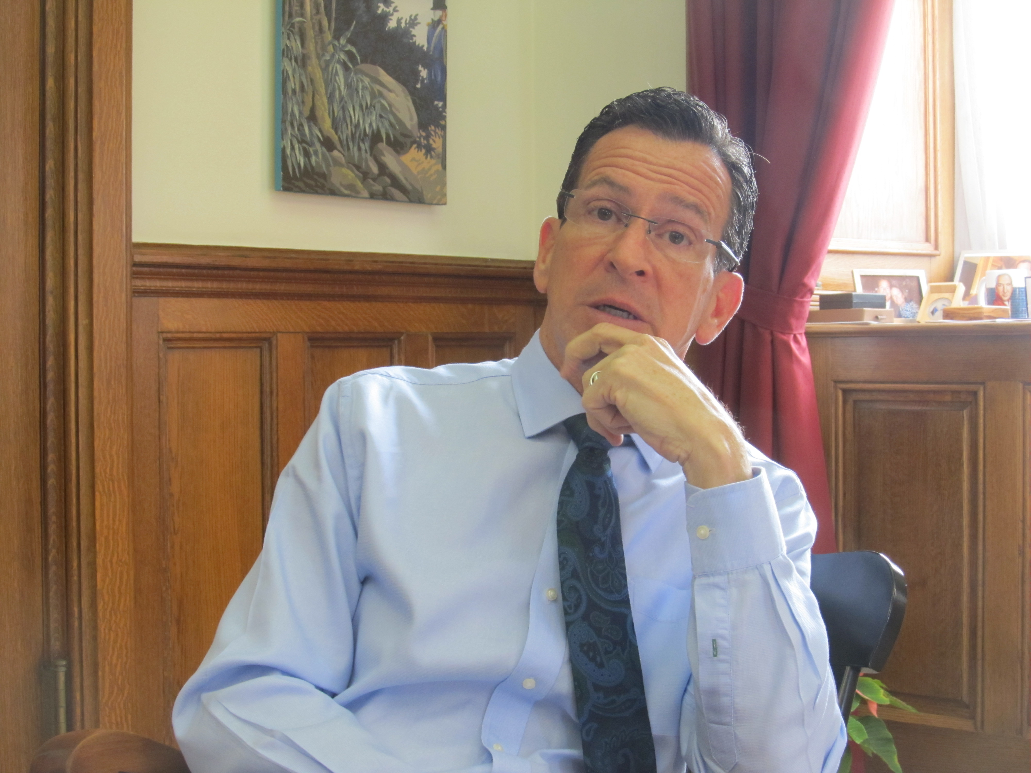 Malloy's New Year's resolution is to be 'aggressive'