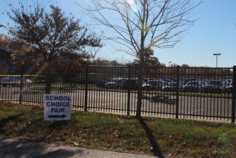 school choice fair sign