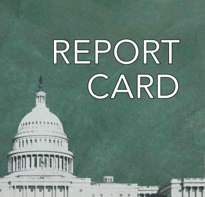 Congressional report card logo