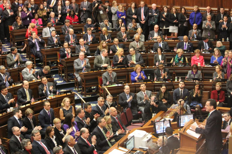Malloy state of the state speech, 2015