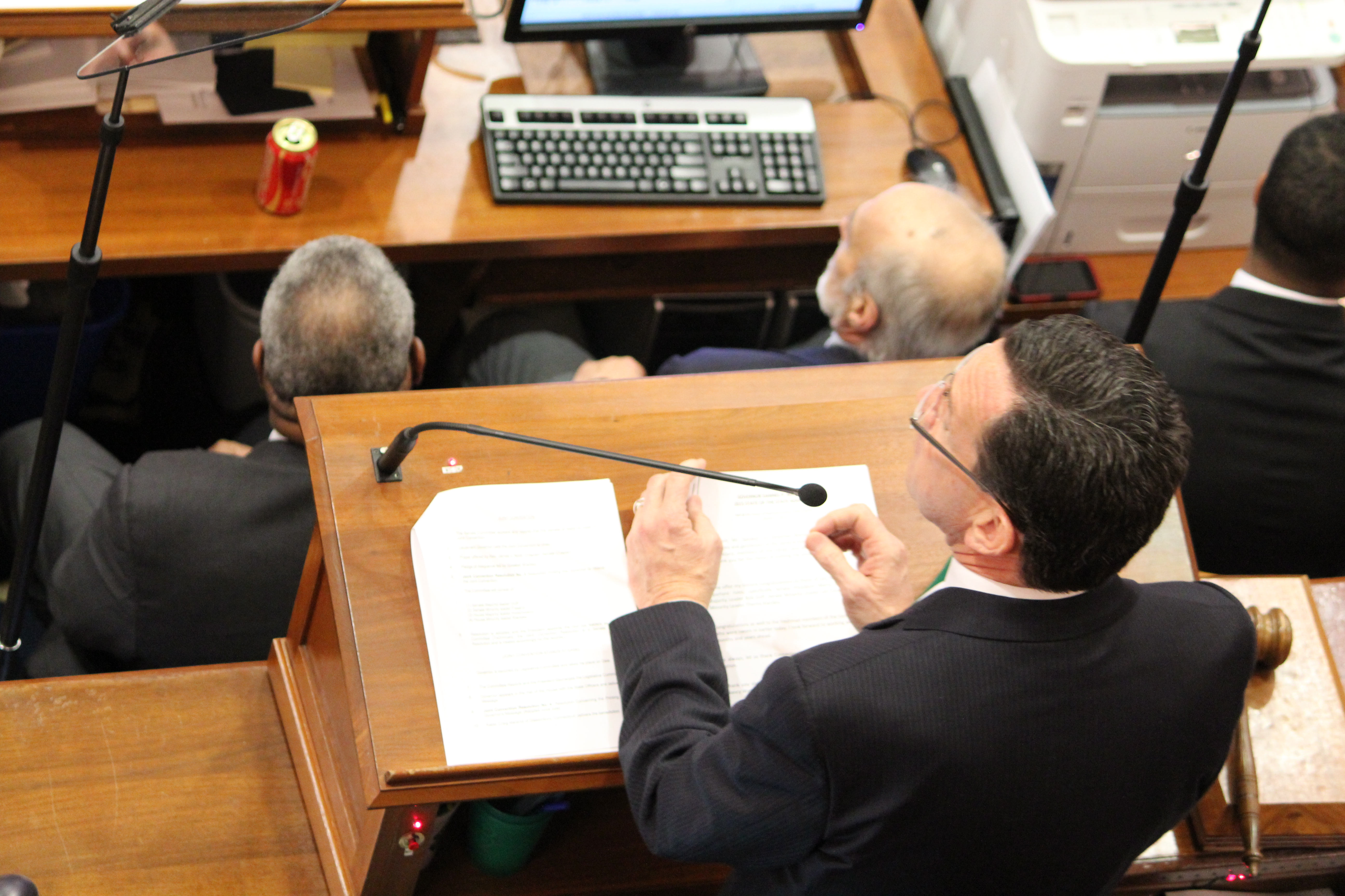 Text of Malloy's 2015 State of the State