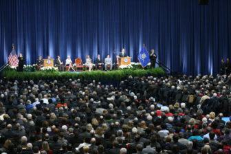 Gov. Dannel P. Malloy's inaugural in 2011.