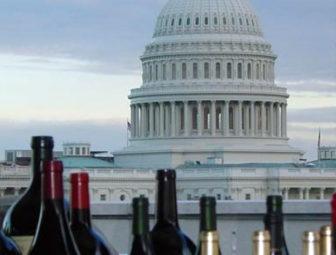 Wine caucus shot