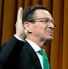 Malloy takes oath for second term: 'I most assuredly do'