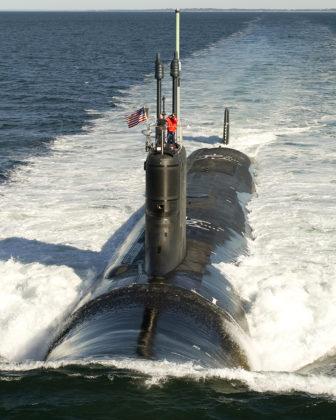 A Virginia-class submarine