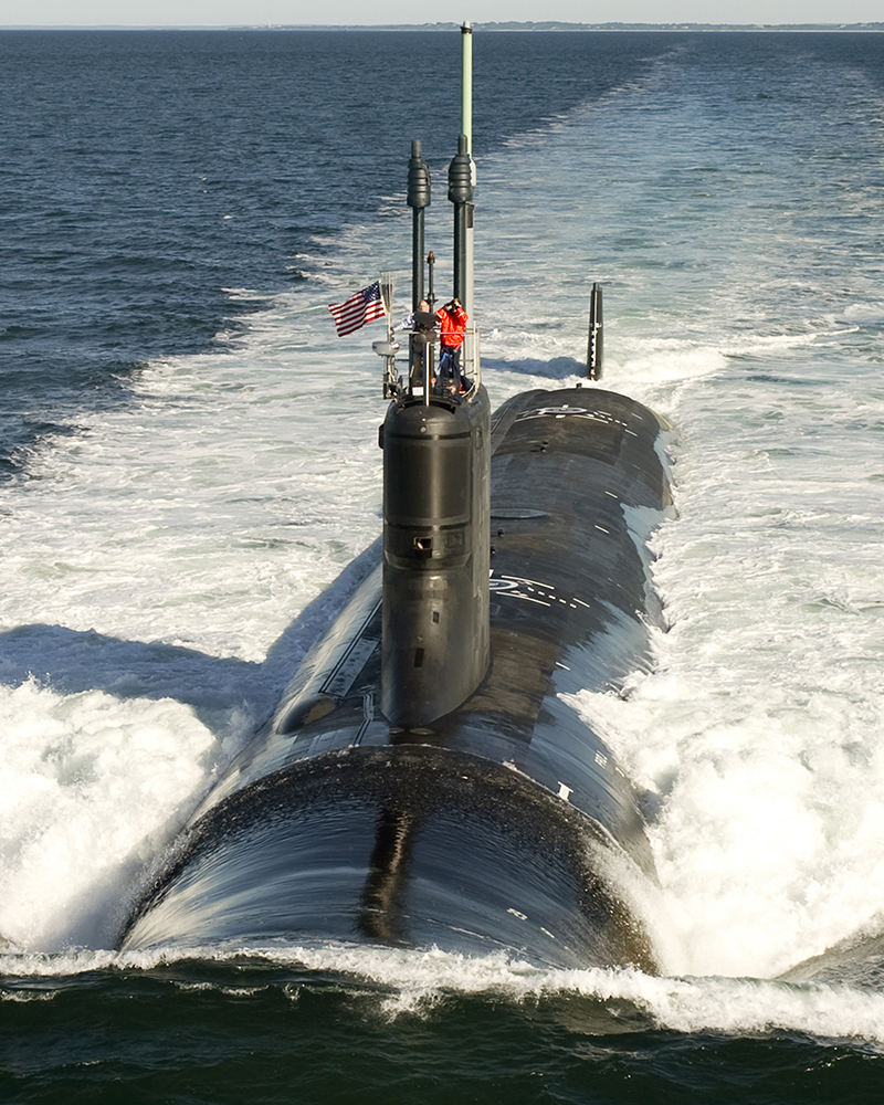 Trump's budget cuts funding for Virginia-class subs from two to one