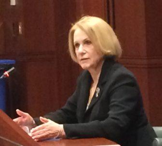 Dora B. Schriro at her confirmation hearing.