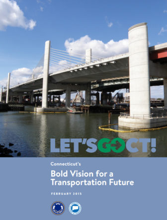 The cover of the governor's 30-year transportation plan.