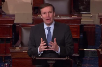 Sen. Chris Murphy speaking on the floor of the U.S. Senate about ISIL.
