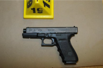 The Glock Pistol Adam Lanza used to kill himself after killing 26 children and educators.
