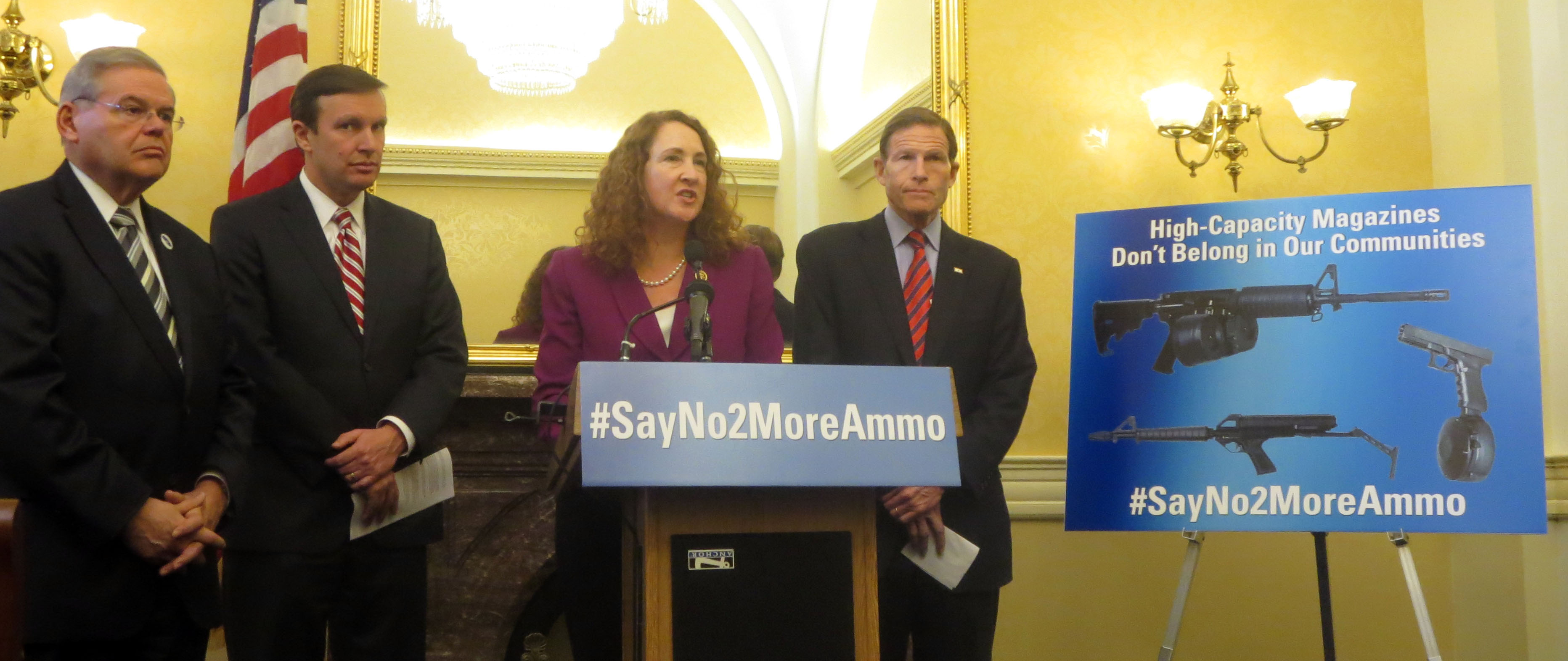 Newtown activists introduce bill banning high-capacity magazines