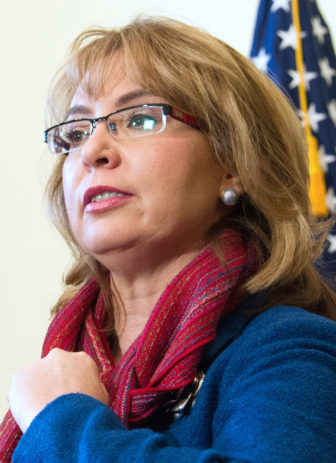 Former U.s. Rep. Gabrielle Giffords of Arizona