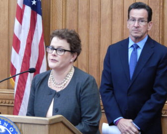 This is a picture of Katharine Wade, Gov. Dannel P. Malloy's pick for insurance chief