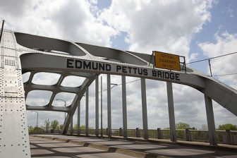 The Edmund Pettus Bridge in Selma, Ala.