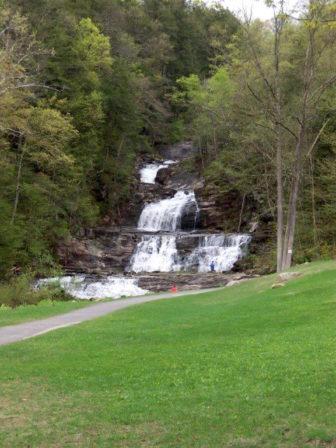 Kent Falls State Park in spring.