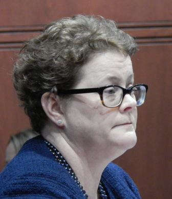 Katharine L. Wade, during her confirmation hearing earlier this year.