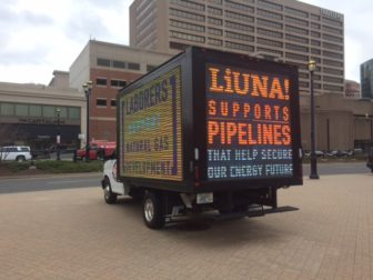 LIUNA, the Laborers International Union, equates a pipeline with jobs.