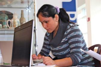 My classmates were my translators, says Enuri Padilla